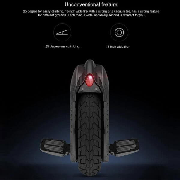 Original Ninebot One Z10 Unicycle Self Balancing Scooter 1800W 45km/h With Handle Support Bluetooth APP Electric Hoverboard