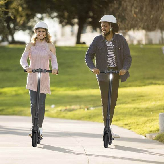 Megawheels S10 New Electric Scooter Ireland with 7.5Ah Battery 250W Motor 8' wheels and LED Display